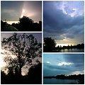 wyparawy nad jezioro #chmury #jeziora #pejzaże #widoki #woda