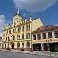 Ratusz w Lomnice n. Popelkou w Czechach #Czechy #miasto #rynek