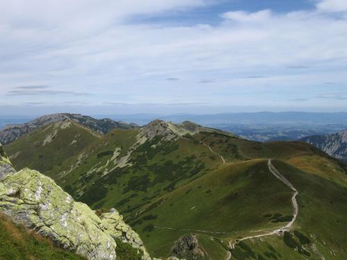 To już mamy za sobą. #Góry #Tatry #StarorobociańskiWierch