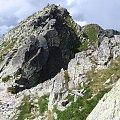 Zadni Granat i Zadnia Sieczkowa Przełączka #Góry #Tatry #KoziWierch #CzarneŚciany #ZadnyGranat