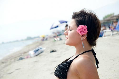 #kobieta #portret #plaża #podróże