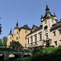 zamek Kliczków - wejście #architektura #Kliczków #majówka #zabytki #zamek