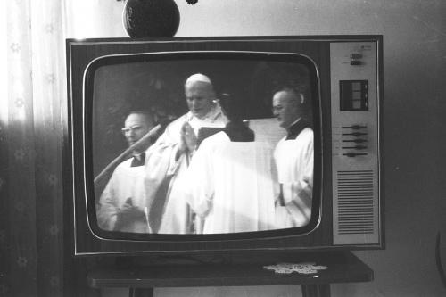 #habemus #papam #papież #janpawelII #transmisja #Rzym #Watykan