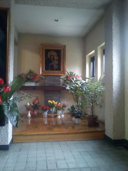 Obraz Matki Bożej w parafii Najświętszych imion Jezusa i Maryi w Katowicach