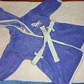 niebieski szlafrok 68 cm #adams #chłopiec #disney #next #niemowlę #ubranka #używane #zestaw