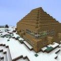 Dom #craftsite #dom #domeczek #domek #drewniany #drewno #góry #klimacie #klimat #minecraft #wielki #zima #zimowym