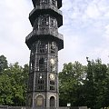 Niesamowita żeliwna wieża Konig Friedrich August z 1854r. w Lobau 28 metrowa z 70 ton żeliwa.. #Lobau #niemcy #WieżaWidokowa