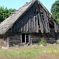 Dom w Wysokiej Zaborskiej #chata #strzecha #domek #dom #wieś #ruina