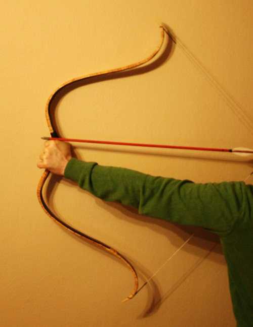 #ScythianHornbow