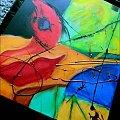 #abstrakcja #akwarela #kolor #sztuka #obraz