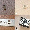 Podświetlanie przełącznika lusterek diodą LED SMD #w201 #w124 #mercedes #led #smd