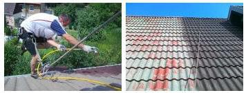 malowanie dachu cementowego
