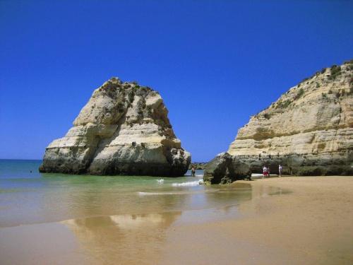 Praia da Rocha #Portugalia #Algarve #PraiaDaRocha #morze #Atlantyk #ocean
