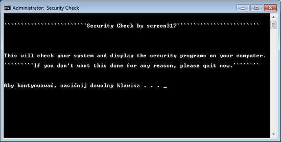 Wirus UKASH zablokowany komputer prośba o analizę logów