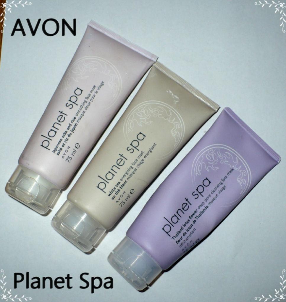Delorean blog kosmetyczny maseczki planet spa avon for Plante salon