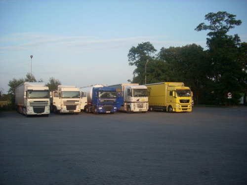 #parking #CiągnikiSiodłowe #ciężarówki