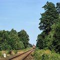|20.08.09| SA106-019 jako pociąg 1126 do Chełmży #osobowy #pkp #Dąbrowa_Chełmińska #Bydgoszcz #Chełmża #linia
