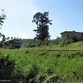 |20.08.09| SA106-019 jako pociąg 1126 do Chełmży mija dawną strażnicę w km 93. #osobowy #pkp #Dąbrowa_Chełmińska #Bydgoszcz #Chełmża #linia