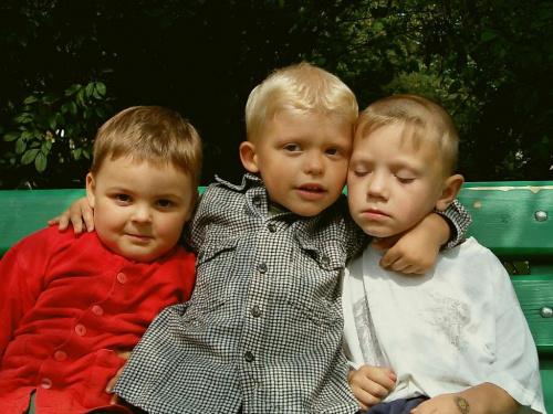 Ich troje #troje #trójka #portret