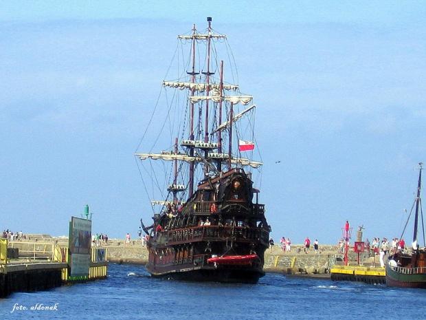 statek wycieczkowy DRAGON - Ustka