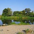 Spływ z nuetem Narwi na odcinku Łomża - Nowogród. #krajobrazy #Narew #pontony #rzeki #spływy