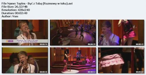 Toples - Byæ Z Tob± (2010) (TVN-Rozmowy w toku)