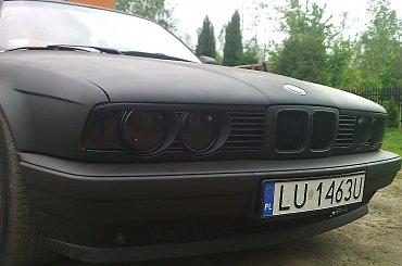 BMW 535 czarny mat