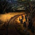 Śmierć #Cmentarz #katedra #Nightwood #Ramki #Smoki #Śmierć
