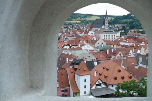 Czeski Krumlow #widok #miasto #zabytki