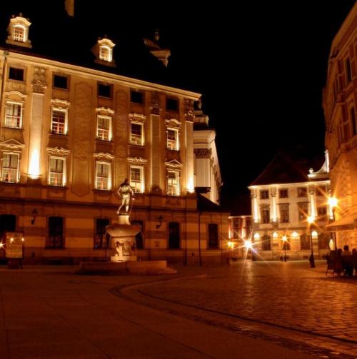 Wrocław nocą...