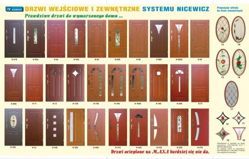 Drzwi drewniane wejściowe zewnętrzne o grubości skrzydła 59mm lub 68mm, szklone lub pełne, jako drzwi wejściowe z zewnątrz do budynku, lub z klatki schodowej do mieszkania. #Drzwi #drewniane #wejściowe #zewnętrzne #wewnętrzne #maxa