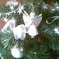 Święta 2009r #aniołek #choinka #święta