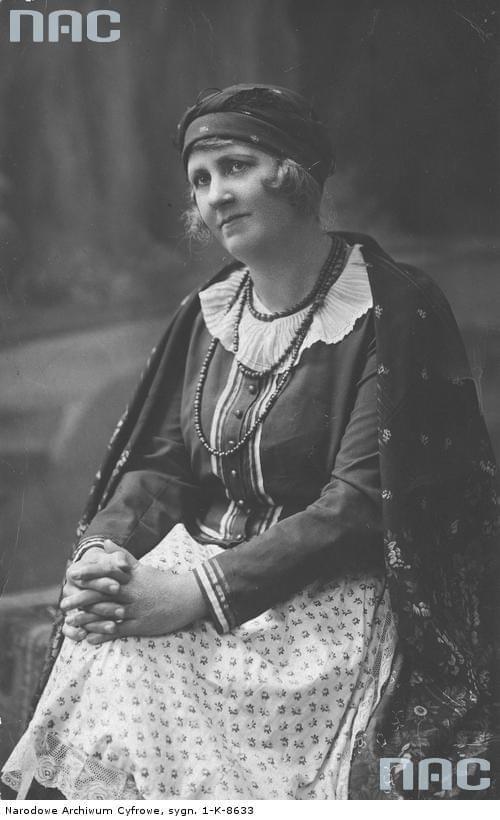 Maria Mirska, aktorka_1910-1039 r.