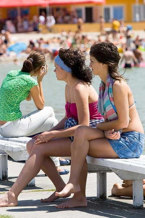 Skorzęcin 2008 - plaża - dziewczyny #Skorzęcin2008 #plaża #dziewczyny