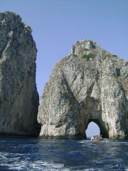 Capri #skaływłochy #morze #italia