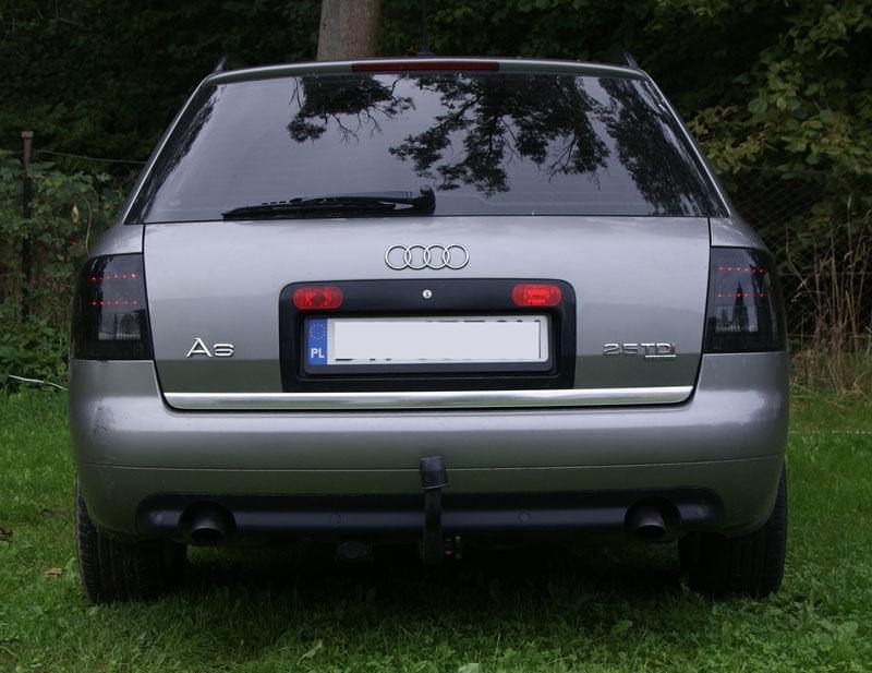 Audi A6 A7 Klub Polska A6 C5 Avant Lampy Tylne Led