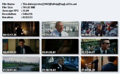 Tłumaczka / The Interpreter (2005) DVDRip XviD + Napisy PL