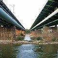 Gdański i obwodowy kolejowy #Warszawa #mosty #Wisła