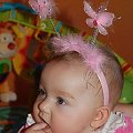 #różowy #motyl #motylek #dziecko #słodkie #maleństwo