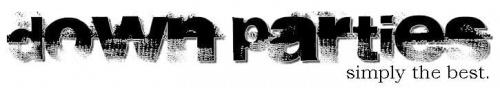 down parties #DownParties #Magdalenka #logo
