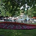 plac Długosza z fontannami w tle dobre miejsce na letnie upały... #miasto #Racibórz #kościół