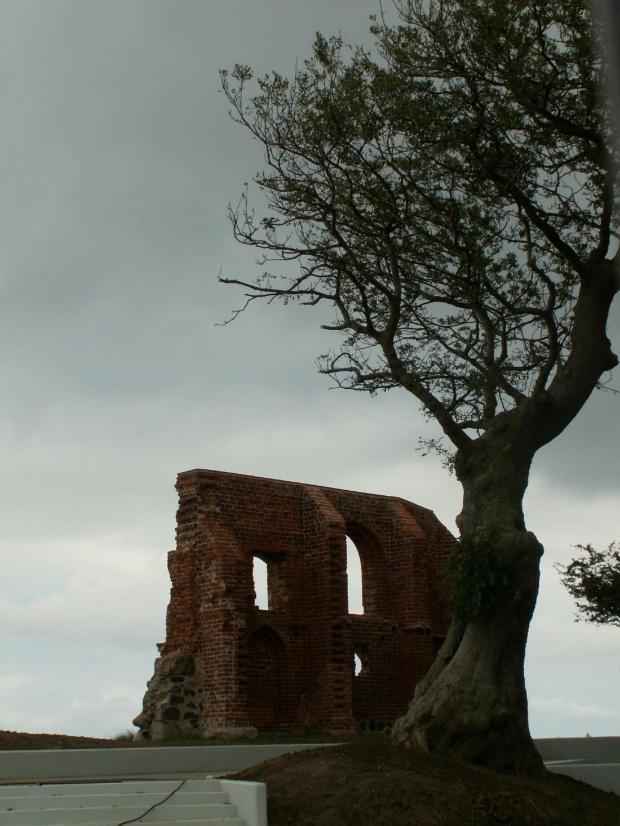 #Trzęsacz #ruiny