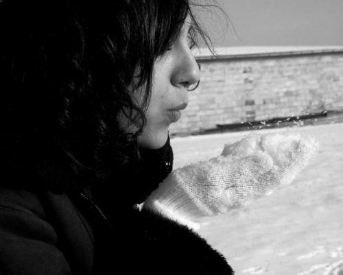 Zimowa sesja Modelka:Monika