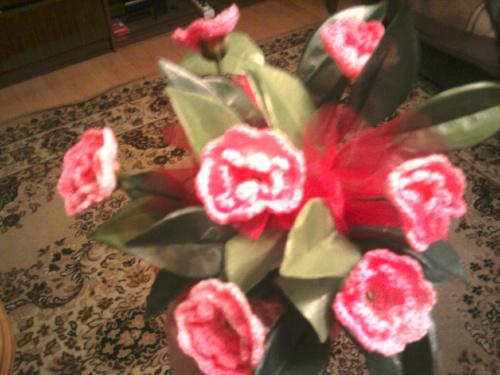 szydełko,robótki ręczne,kwiatki szydełkowe #KwiatySzydełkowe #rękodzielnictwo #szydełko