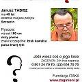 #zaginiony #zaginął #JanuszTabisz