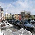 Zimowy widok miasteczka w którym chodziłem do szkoły i pracowałem. #miasto #StrzelceOpolskie #zima #widok