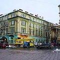 #Lwów #ukraina #zima #kamienica #zabytek #droga #ulica #remont