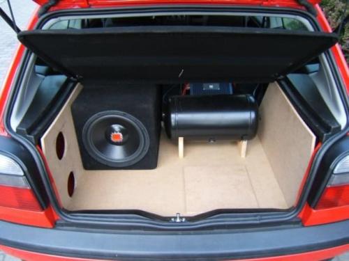 Super zabudowa pokazowa : Nawigacja, Car Audio i CB Radio - Volkswagen AC95