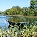 widok z łódką #BorneSulinowo #jeziora #łódka
