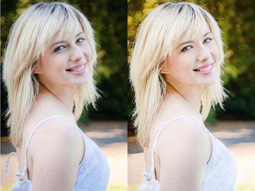 Małe porównanie przed i po